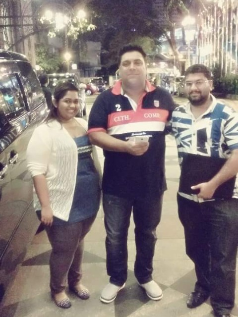 RAJ, ASHTA & BOLLYWOOD ACTOR RAM KAPOOR