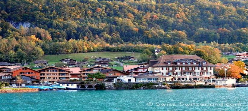Europe, lake-brienz - Interlaken - Switzerland