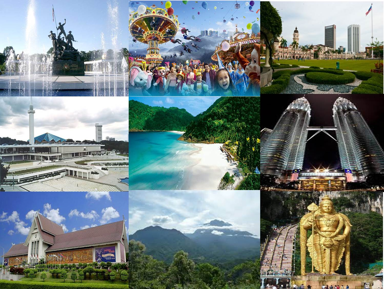 Malaysia Picture Collage 1