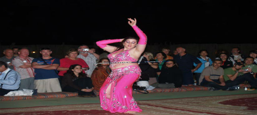 BELLY DANCE IN DUBAI DESERT SAFARI -DUBAI 05