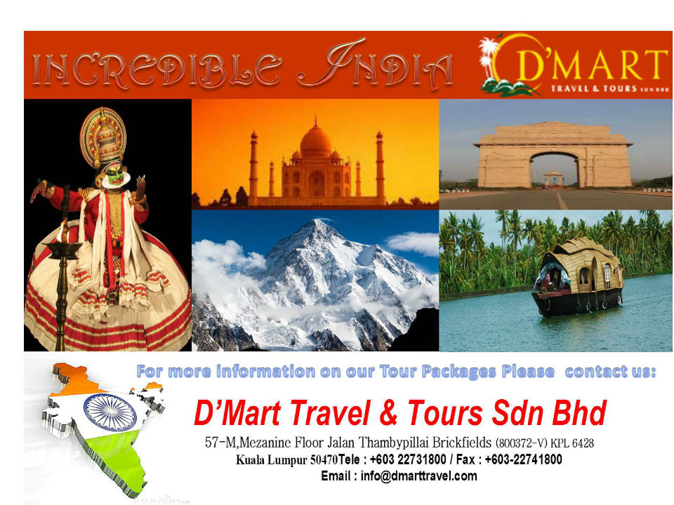 INCREDIBLE INDIA PAGE 1